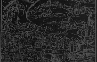 Background for chora: city, dark